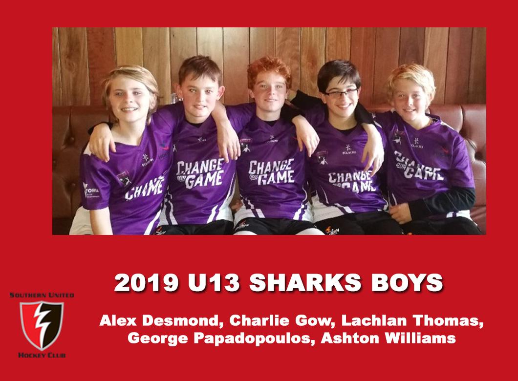 2019 Junior Sharks Under 13 Boys