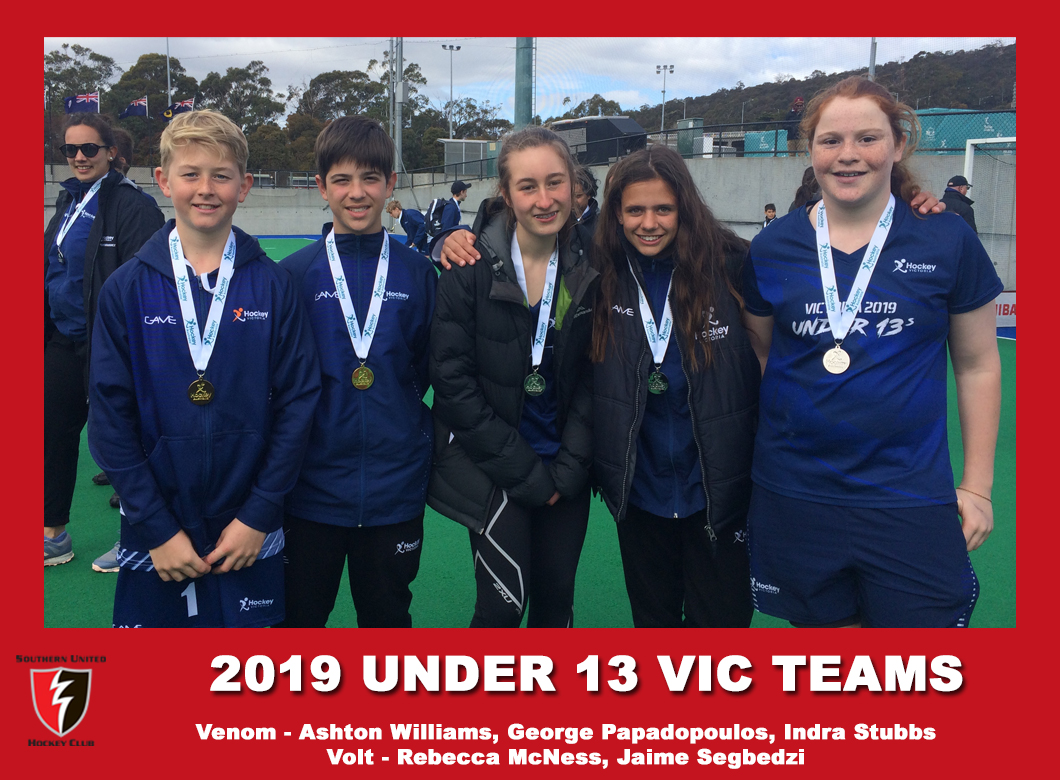 2019 Junior Vic Under 13