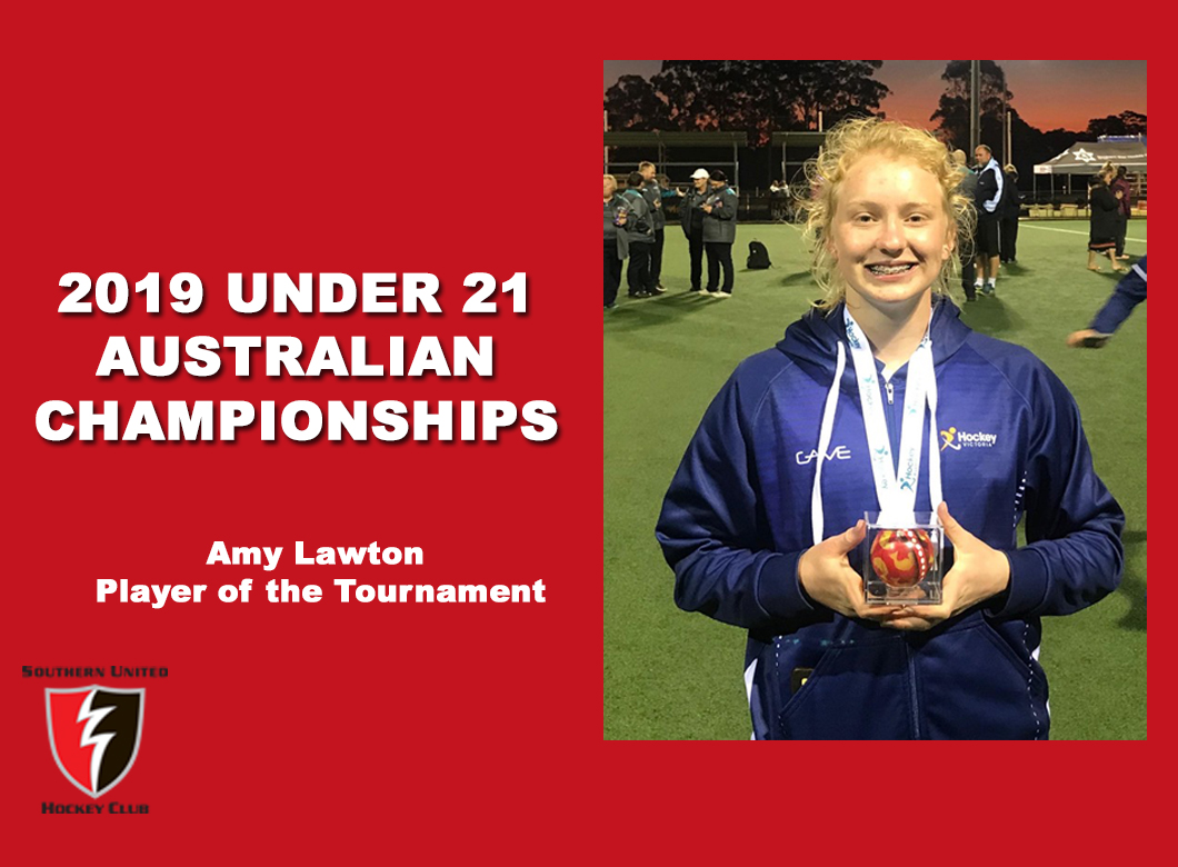 2019 Junior Vic Under 21 Player of the Tournament