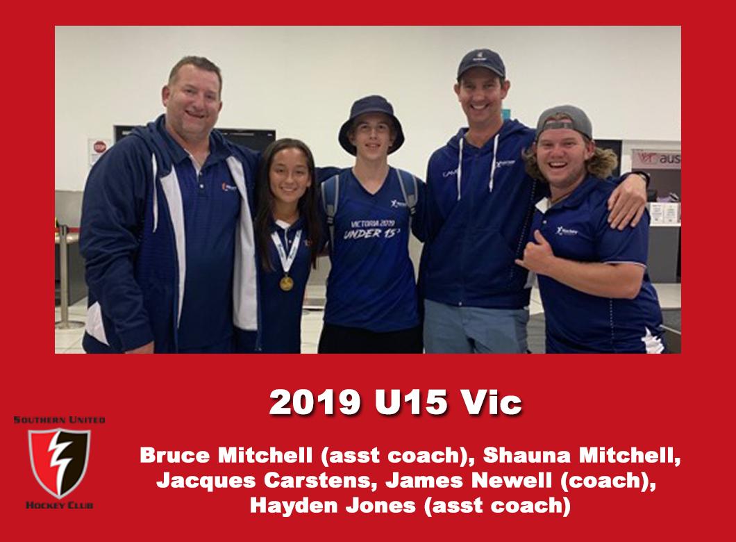 2019 Junior Under 15 Victorian