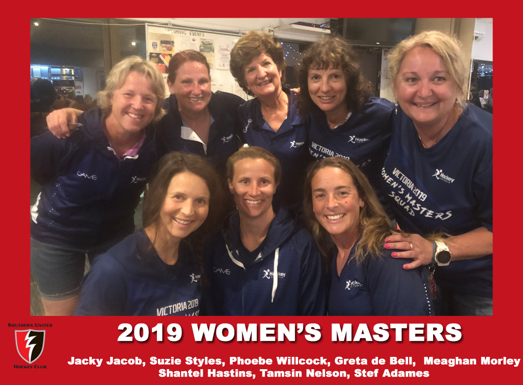 2019  Masters Vic Women