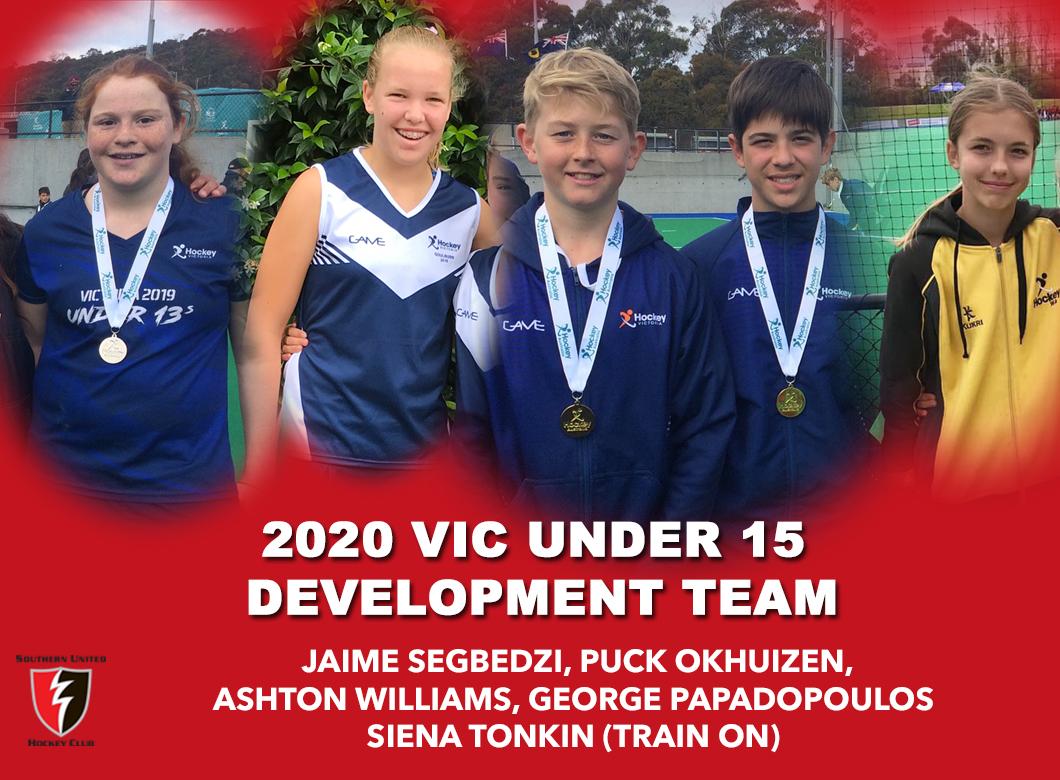 2020 Junior Vic  Under 15