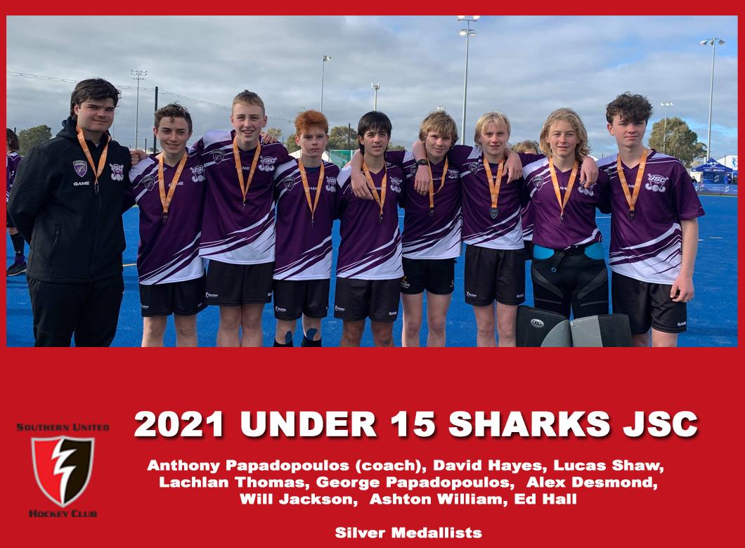 2021 Junior Sharks Under 15 Boys