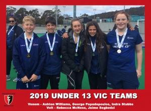 2019 Junior Vic Under 13