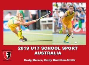 2019 Under 17 School Sport Australia