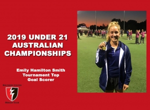 2019 Junior Vic Under 21 Top Goal Scorer
