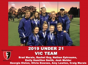 2019 Junior Vic Under 21 Women and Men