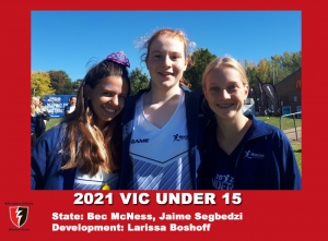 2021 Junior Vic  Under 15 Girls
