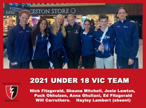2021 Junior Vic  Under 18