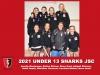 2021 Junior Sharks Under 13 Girls
