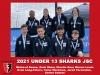 2021 Junior Sharks Under 13 Boys