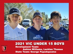 2021 Junior Vic  Under 15 Boys