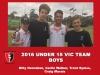 2016 Junior Vic Under 15 boys