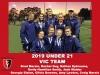 2019 Junior Vic Under 21 Women and Men